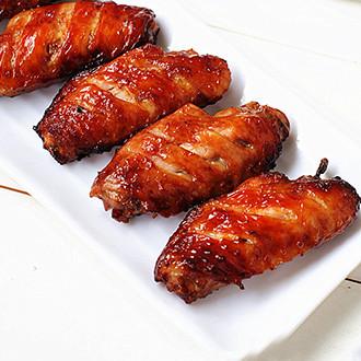 无油香酥鸡翅