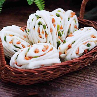 香葱火腿花卷
