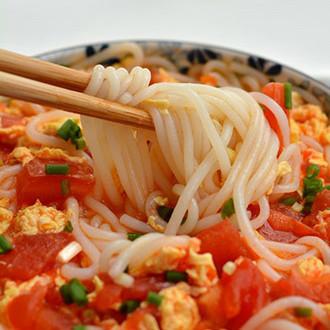 番茄鸡蛋米粉
