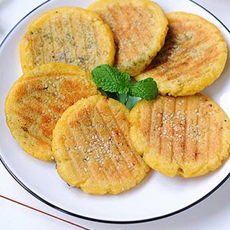 玉米黑芝麻饼