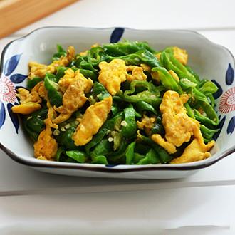 鸡蛋炒辣椒