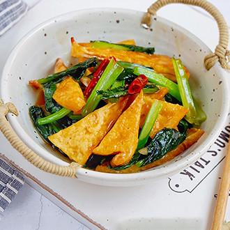 青菜烩豆腐